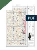 Plancha geologica de una region en colombia