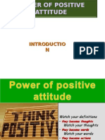 Power of Positive Attitude-AMs-2013