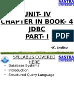 Chapter4 JDBC PartI
