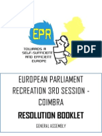 Resolution Booklet