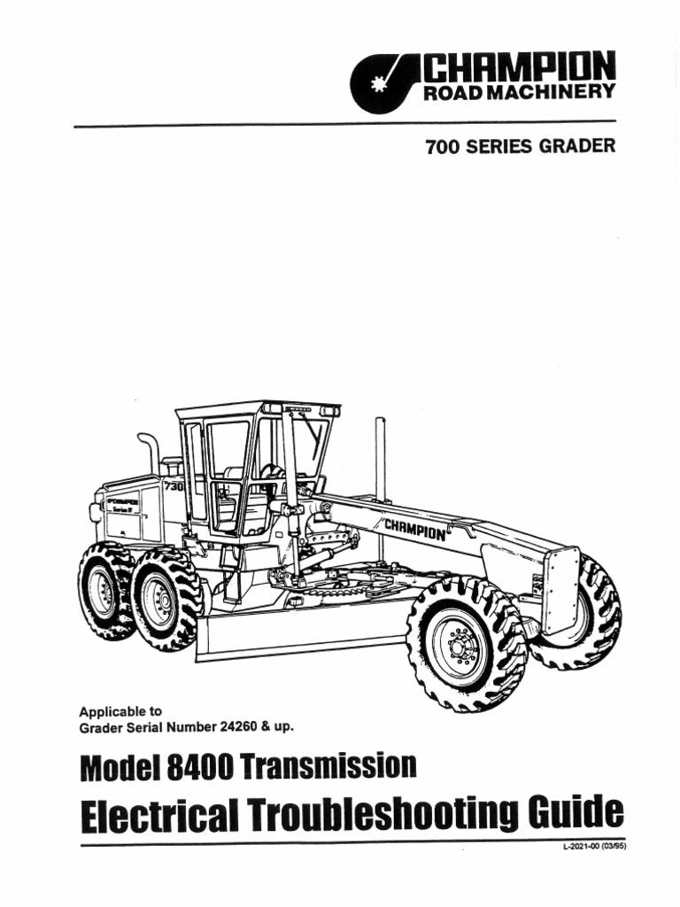 Transmision Champion 720