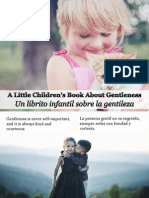 Un Librito Infantil Sobre La Gentileza - A Little Children's Book About Gentleness