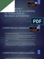 Competencias y Habilidades de La Carrera de Tecnología
