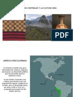 Los Andes Centrales Yla Cultura Ink A