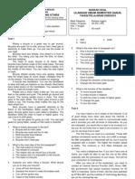 Naskah Soal Ulangan Umum Semester Ganjil - Bahasa Inggris XII IPA&IPS