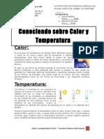 Guía de  Calor y Temperatura