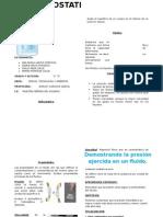 Guía de Laboratorio de Hidrostatica