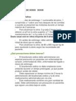 BICARBONATO DE SODIO   DOSIS.pdf
