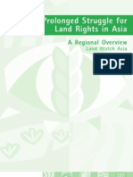 Securing the Right to Land in Asia Regional Synthesis