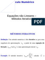 05 Equacoes Nao Lineares Metodos Iterativos Newton