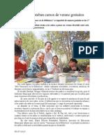 05.07.2014 Comunicado Invita a Esteban Cursos de Verano Gratuitos