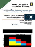 Proteccion de Edif Peruanos Por Aislamiento y Disipación