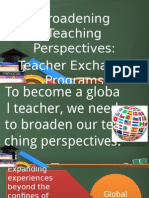 Teacher Exchange Program