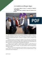 09.07.2014 ComunicadoJornaleros Tendrán Un Albergue Digno Marisol