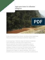 Tecnología Limpia Para Tratar Los Efluentes Mineros