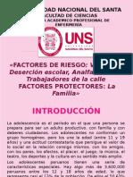 ADOLESCENTE  Factores de Riesgo y facctores protectores.pptx