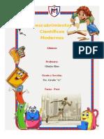 Descubrimientos Científicos Modernos - Trabajo en File
