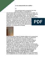 Acupuntura Para La Osteoartritis de Rodilla
