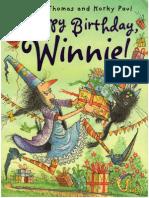 Happy Birthday, Winnie!