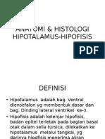 Anatomi & Histologi Hipotalamus-hipofisis