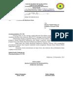 Permohonan Bantuan Dana PDH Lembaga