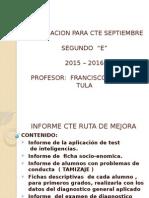 2° E CTE septiembre