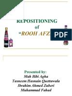 Rooh Afza presentation1