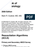 Handbook of Anesthesiology