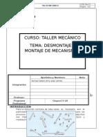 Informe de Demontaje y Montaje de Mecanismos C5-1B