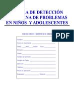 Escala-Owens de Detección en Pronblemas en Niños y Adolescentes