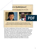 what is  deafblindness
