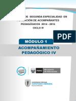 modulo ACOMPAÑAMIENTO PEDAGÓGICO formadores ciclo IV-u1.pdf