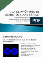 Aplicacion Ala de Avion
