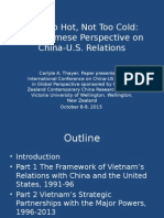 Thayer Vietnam's Perspective on China-US Relations