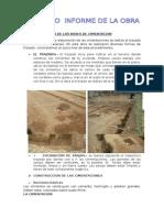 Excavacion Para Las Bases de Cimentacion Segundo Informe