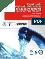 Vigilancia de la Calidad del Agua para consumohumano  en Colombia (1)