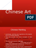 CHINESE ART ppt | Landscape Painting | Paintings