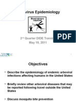 Arbovirus Epidemiology