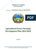 Agricultural Sector Strategic Development Plan 2014-2018