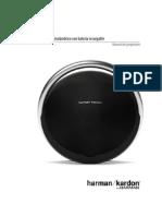 Owners Manual HK Onyx (Spanish)