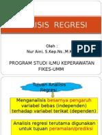 Analisis Regresi-kss