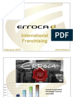 ERROCA Eye Wear - Franchising Opportunities