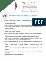 Estrategias Para Estimular El Lenguaje en La Escuela y en La Casa