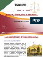Clase 5 - La Organización Interior Municipal
