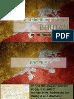 School report about Bhutan