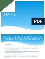 Plan de Trabajo Español