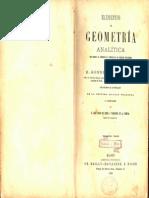 Elementos de Geometría Analítica-Sonnet