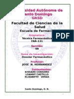 Dossier de Tecnica Farmaceutica 1-1