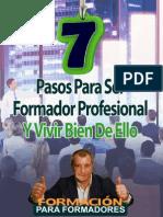 7 Pasos Para Ser Formador Profesional