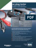 Beru - Glow Plug Tester - En - Lores